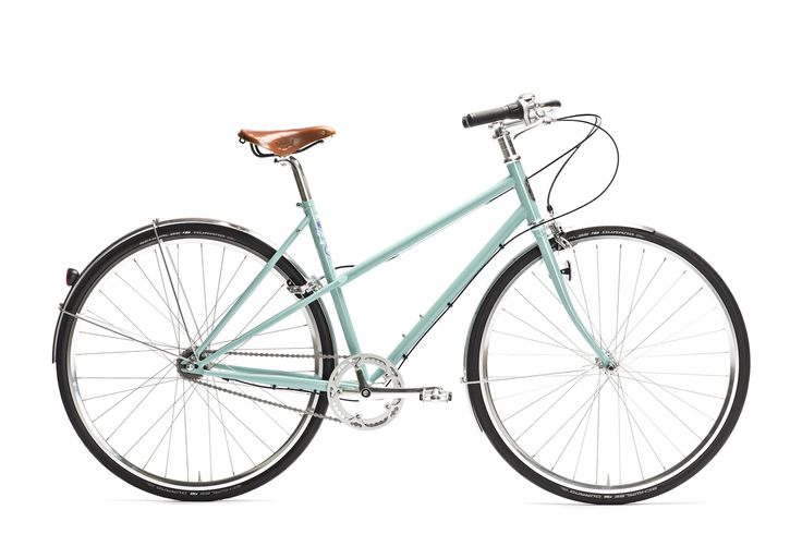 Easy steering and elegant mixte bicycle with lightweight CrMo steel frame and modern components           Contemporary approach to classic mixte frame           Perfect for daily commuting and freetime cycling around the city               Various accessories available to adopt to various customer needs