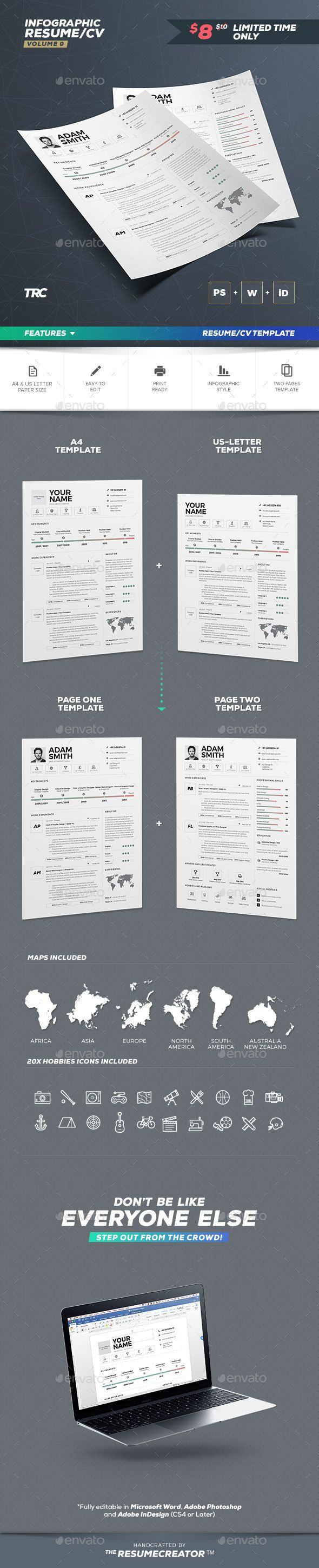 2273 best resume templates images on pinterest resume templates