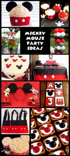 We threw a Mickey Mouse Birthday Party and have put together our best Mickey Mouse Party Ideas including desserts, decorations, party games and activities and party favors. Follow us for more fun Mickey Mouse Party Ideas.