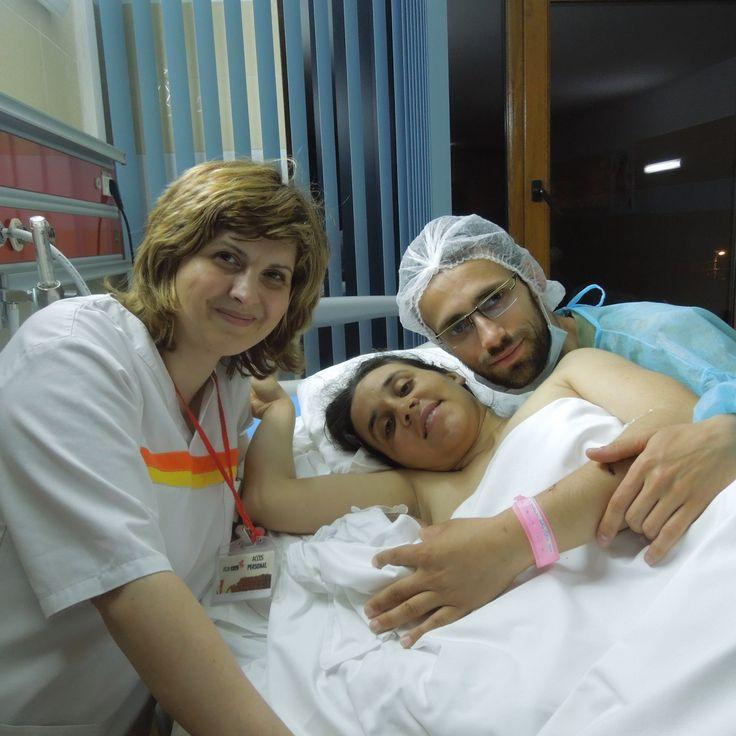 O mamă curajoasă și cu multă credință în Dumnezeu, o naștere naturală după două cezariene, o poveste extraordinară, un vis împlinit.