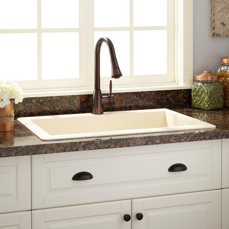 Cream Colored Kitchen Sinks
