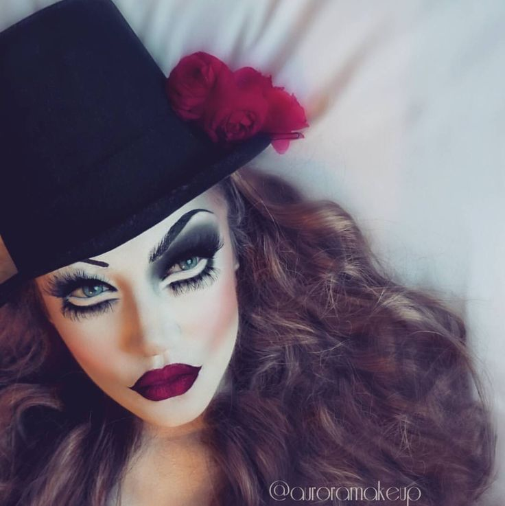'Creepy Circus' by @auroramakeup| Be Inspirational ❥|Mz. Manerz: Being well dressed is a beautiful form of confidence, happiness & politeness