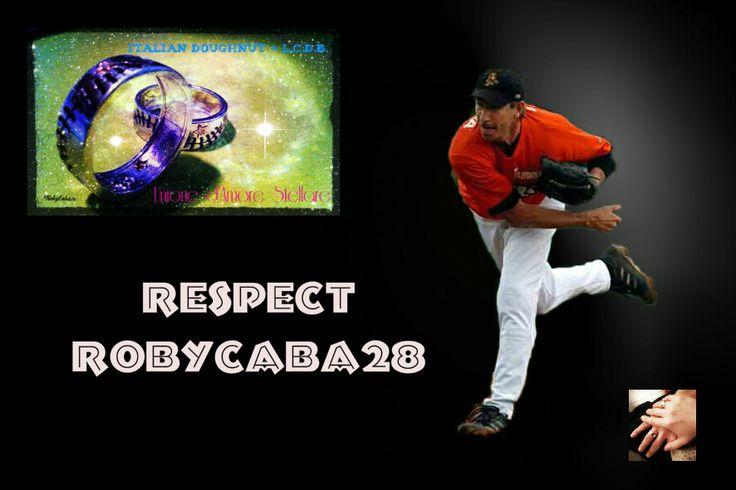 """Un gioiello Anello """"Italian Doughnut LCDB®#RobyCaba28"""" distribuito da http://www.ladylovejewelry.com/104-baseball-by-lcdb"""
