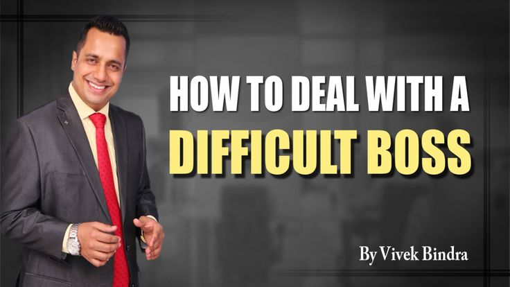 httpsyoutu.be7GB4JQKHPrUHow To Deal with a Difficult Boss Corporate training sessions Video by Vivek Bindra India
