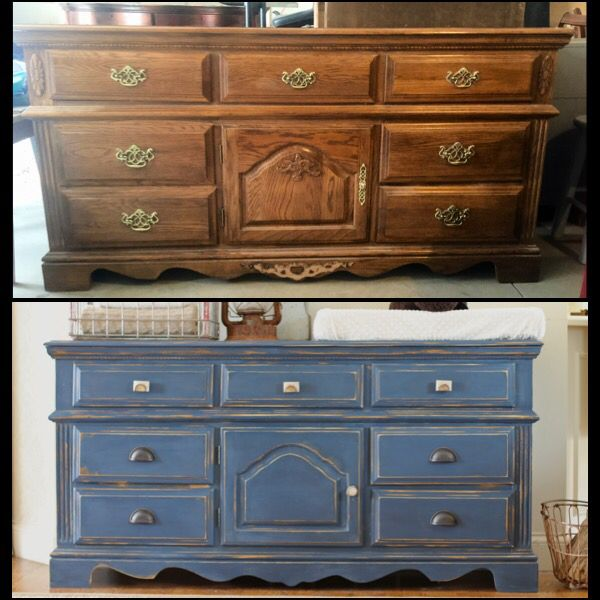 Attractive Before U0026 After Dresser Makeover With #anniesloan Chalk Paint @https://www