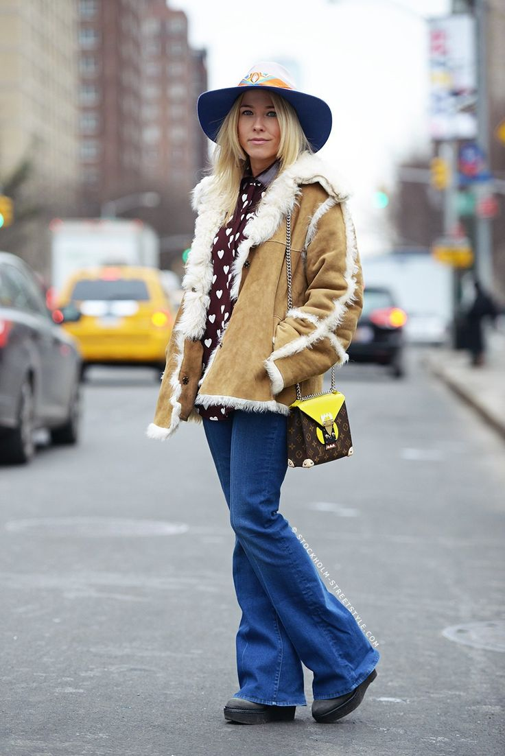 Women Outfits with Shearling Coats-19 Ways to Wear Stylishly advise