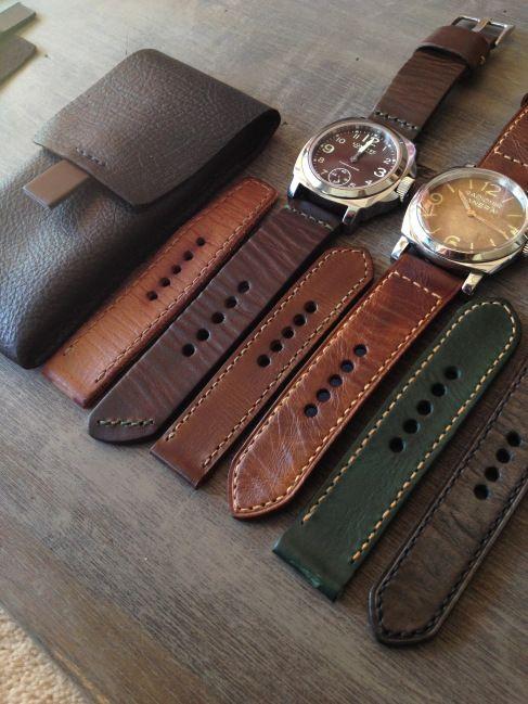 Handmade Leather Watch Strap