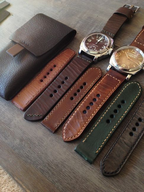 Handmade Leather Watch Strap