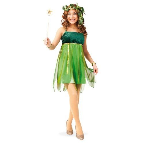NEU Damen-Kostüm Waldfee Lauriel, grün Gr. 36