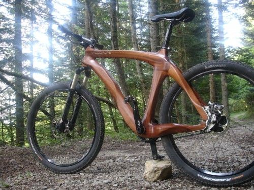 WOODALPS bicycles | Wooden bikes | Vélos bois