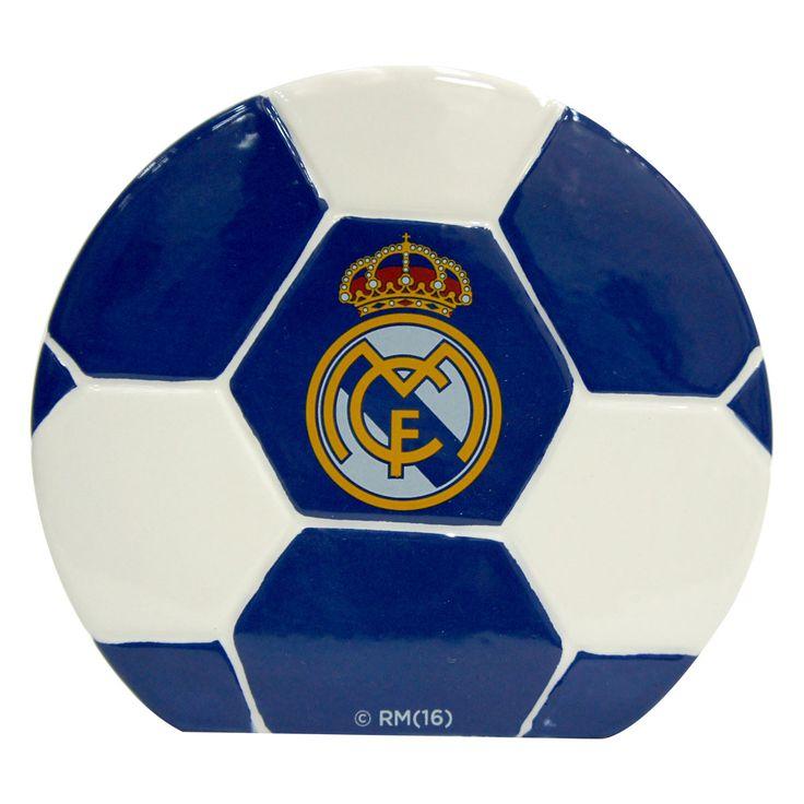 Real Madrid C.F. Ceramic Money Bank - Rs. 599 Official#Football #Merchandisefrom#LaLiga