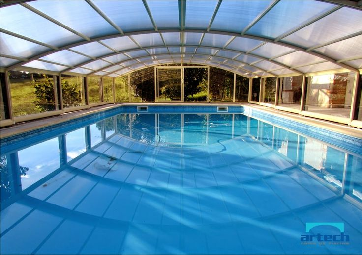 20 best ABRI DE PISCINE MI HAUT images on Pinterest Pool - prix veranda piscine couverte