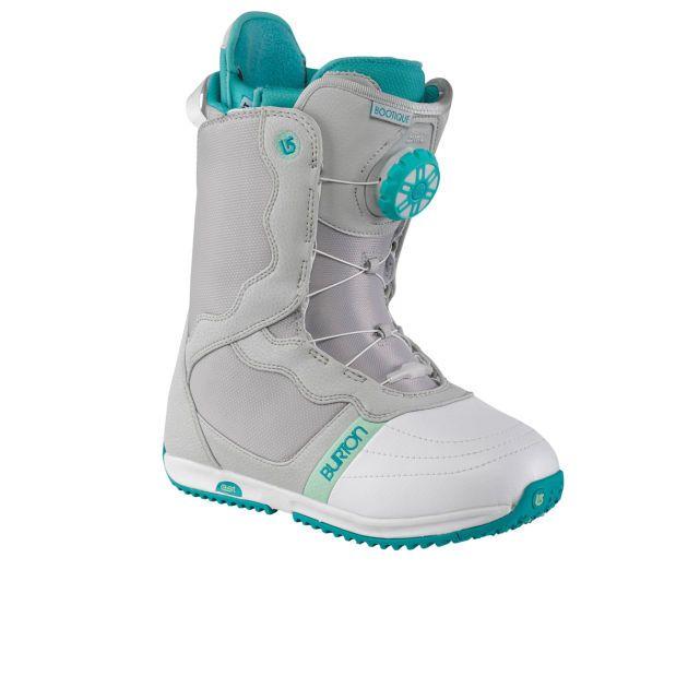 Women's Burton Bootique Snowboard Boots - Gray/White/Teal