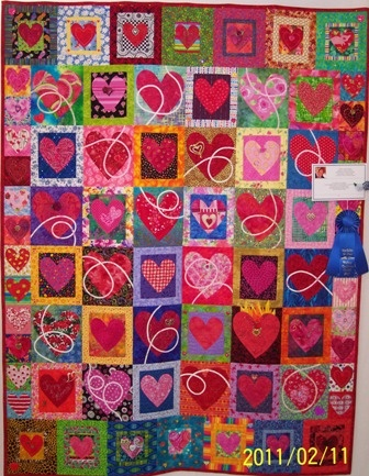 316 best heart quilts images on Pinterest | Heart, Patterns and ... : how quilts are made - Adamdwight.com