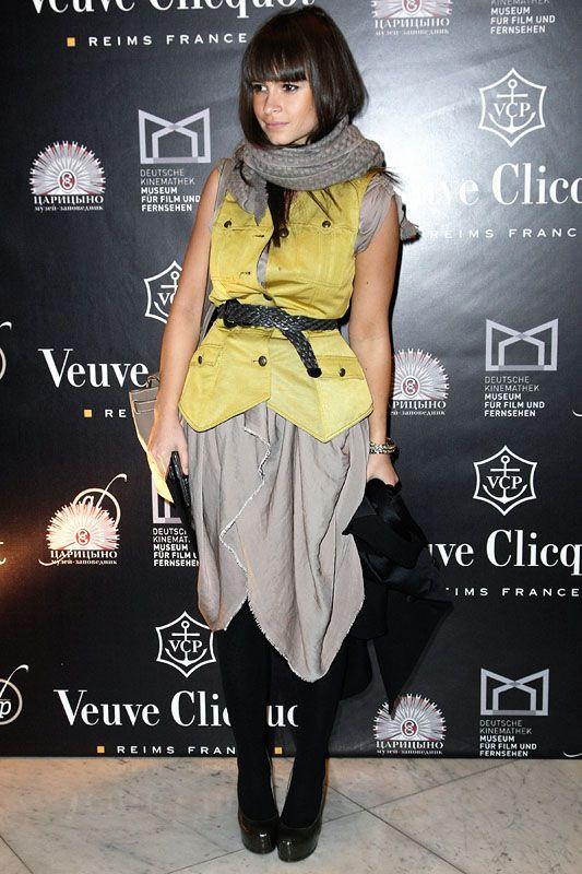 Miroslava Duma - Proenza Schouler vest, YSL shoes and Hermes Kelly bag