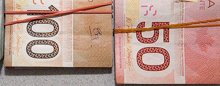 Canadian currency.