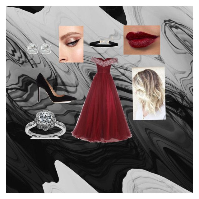"""""""Imogen Formal"""" by rubygwilson on Polyvore featuring Gianvito Rossi, Frederic Sage and Zac Posen"""