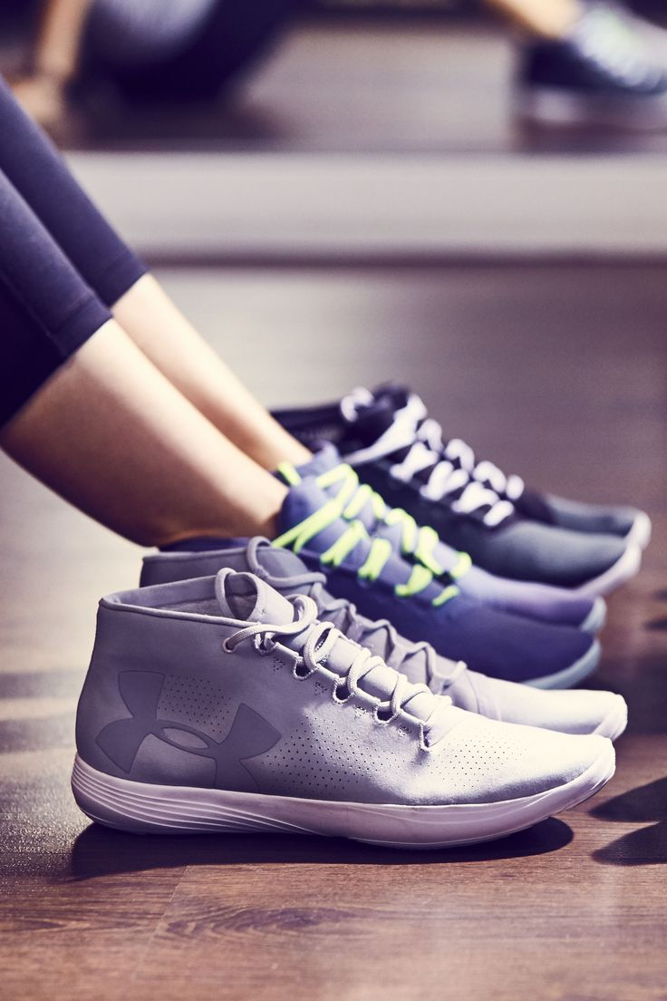 "Under Armour Street Precision. The perfect shoe for casual, ""to and from"""