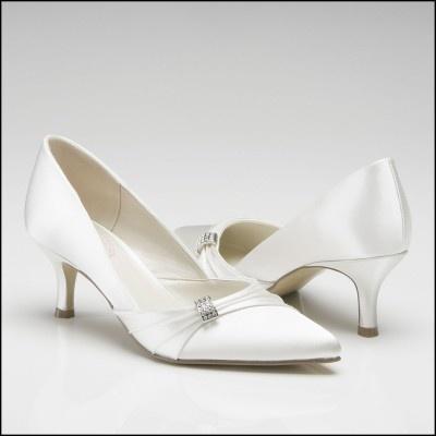 Pink Paradox Beau Low Heel Wedding Shoes