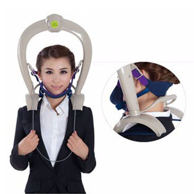 Neck Support Brace Cervical Traction Pillow Massager Relax Tight Muscles…