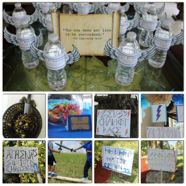 Percy Jackson Party Ideas by Lush and Lovely Favors  http://miami.craigslist.org/brw/art/4422596763.html
