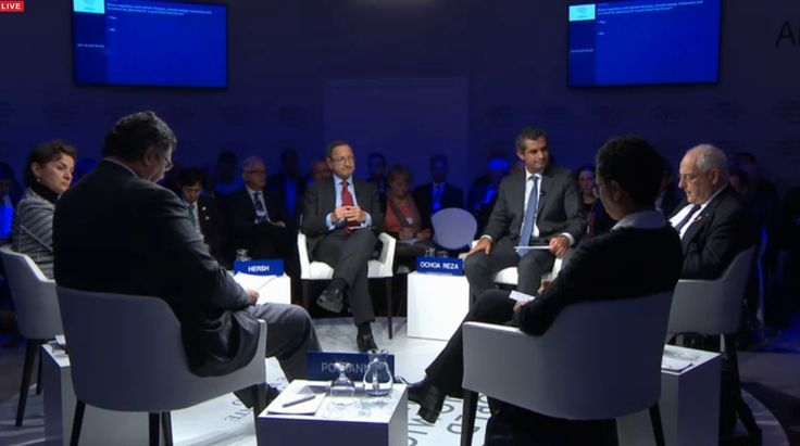 """UN Climate Action on Twitter: """"LIVE WEBCAST of #WEF16 debate on #fossilfuel-free futures with @CFigueres https://t.co/q63DR3kTyT #climateaction https://t.co/JvJwdtsAMl"""""""