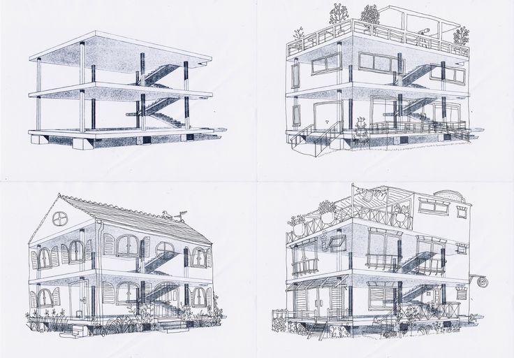 Centre le corbusier google search le corbusier for 5 points corbusier