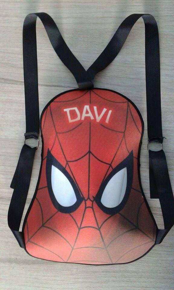 Mochila Homem aranha