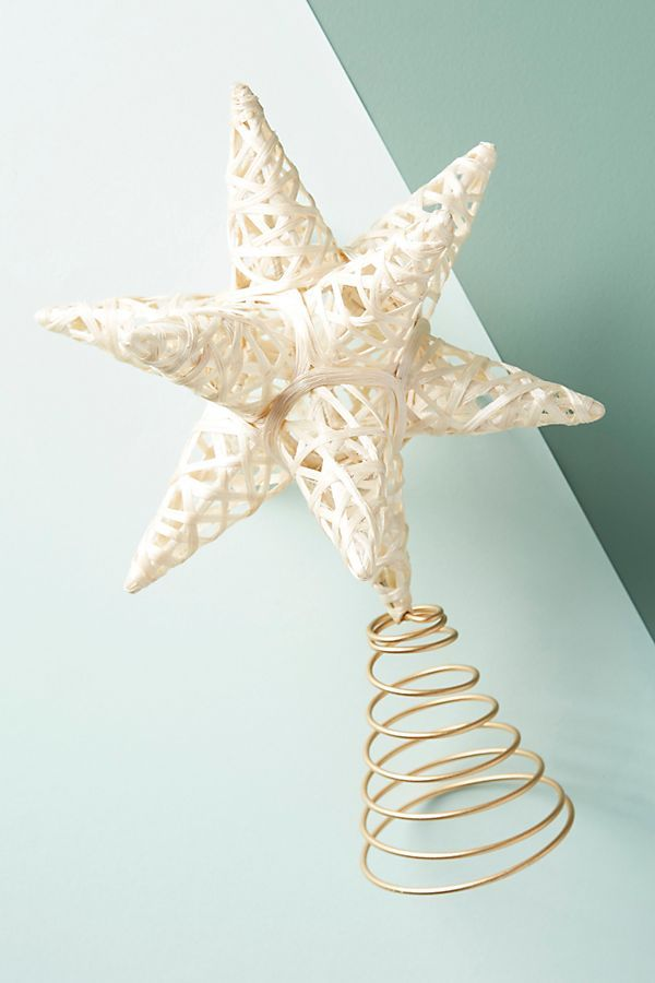 Woven Star Tree Topper   #affiliatelink #ad #affiliate christmas
