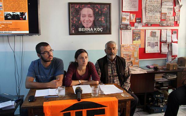 Sendika (.) Org ///  İzmir'de polis baskını: Halkevi şube yöneticisi Evrim Çakır gözaltına alındı