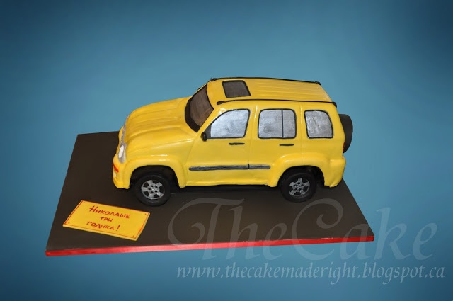 TheCake: Cake Jeep Liberty