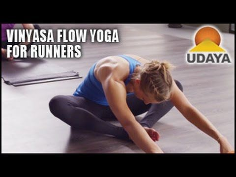 Vinyasa Flow Yoga: Runners Flow with Ali Owens- Udaya Yoga - YouTube