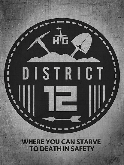 Hunger Games District 12 Sign 15 Best images about D...