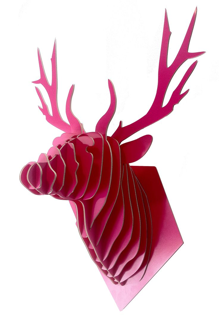 Ciervo Color Tamaño L: $55.000 Carton pluma colores
