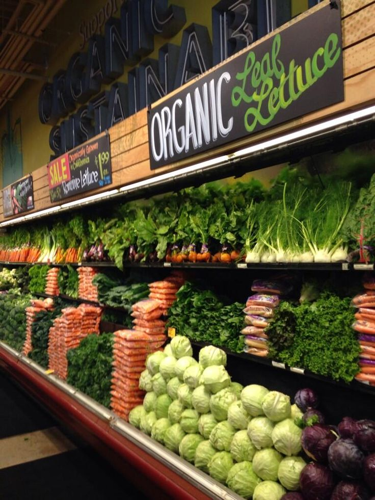 Check out Whole Foods for fresh, organic food and groceries. Not to mention they have take out meals and chefs preparing fresh, healthy, home cooked meals daily!