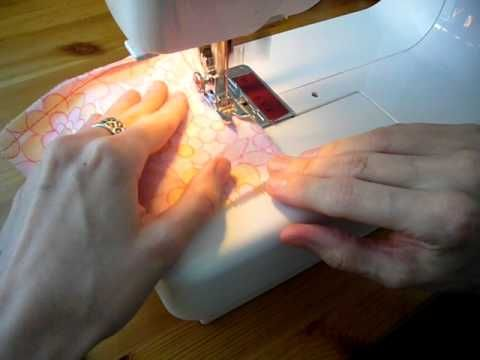 Perhaps the most useful sewing video of all time: How to Sew Tidy Corners -- without clipping or trimming any fabric!