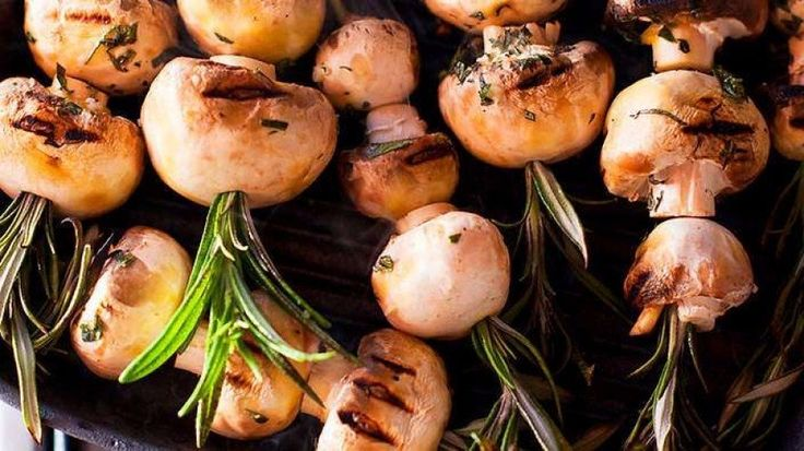 1891 best food network recipes images on pinterest spicy recipes skewers of mushrooms with rosemary recipe forumfinder Gallery