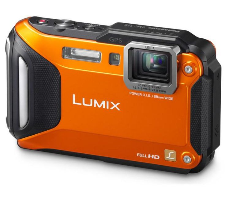 PANASONIC  Lumix DMC-FT5 Tough Compact Camera - Orange, Orange Price: £ 199.00 Tackle the elements with the funky and stylish orange Panasonic Lumix DMC-FT5 Tough Compact Camera and get great results whatever the weather. Outdoor camera Whether you want a waterproof camera for high-res diving photos, a freezeproof camera to video your adventures on the piste, or a dustproof camera for beach...