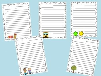 I made these friendly letter templates to use at the end of the school year. My students wrote letters to my next year's students. They wrote about the fun we had and what to expect in Second Grade. I will share them with my new students in the fall.  They could be used at any time of the year, since the templates don't say end of year.