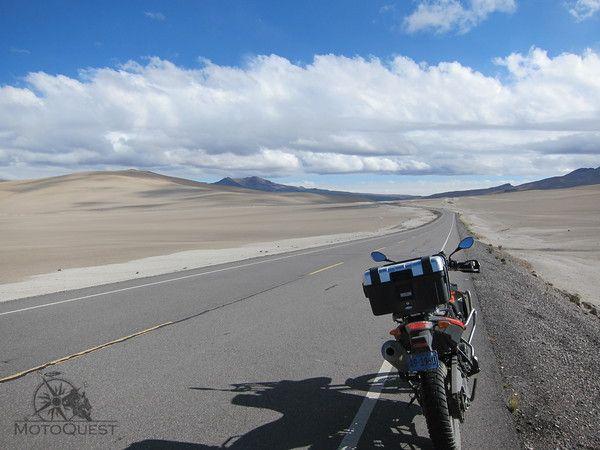 Atacama desert. 2015 Peru Machu Picchu Motorcycle Adventure with MotoQuest