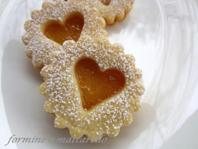 formine e mattarello: Biscotti all' arancia
