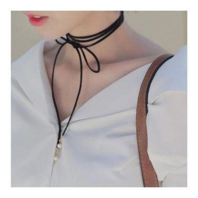 Choker Forever21 Pearl Collar Design