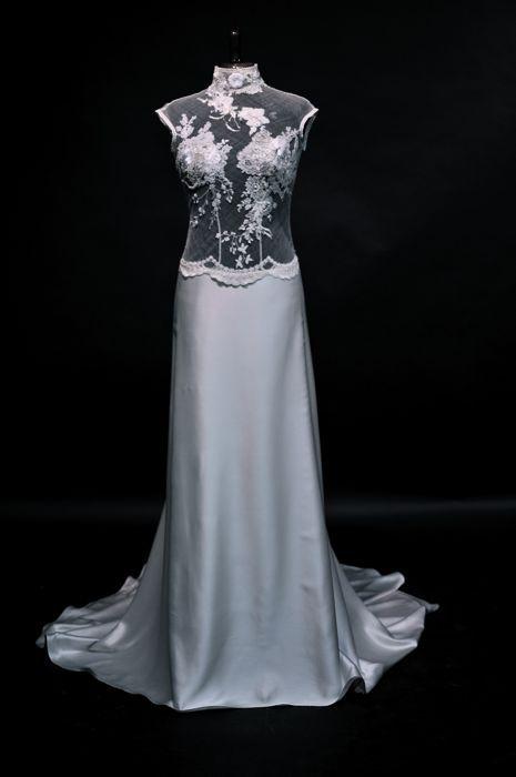 Wedding Dress - Hillenius Couture Bridal Fashion Embroidered Tulle Trouwjurken Bruidsjurken Trouwen Bruiloft Silk