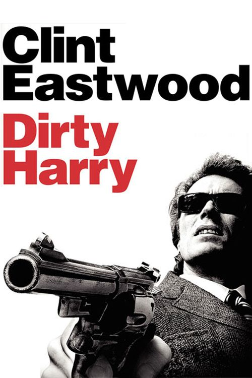 DIRTY HARRY (1971) - Clint Eastwood - Directed by Don Siegel - Warner Bros. - DVD cover art.