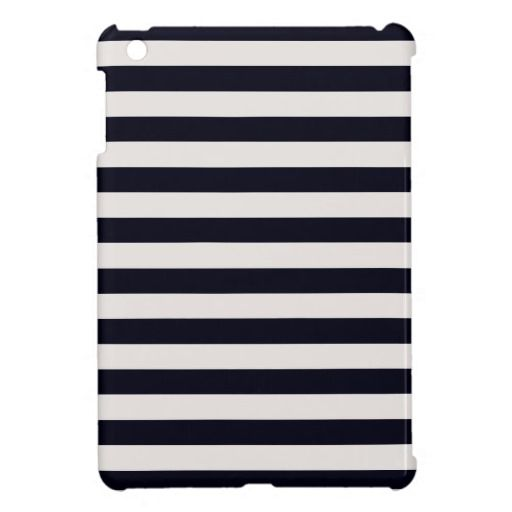 Or this one... French Stripes iPad Mini Case Black Cream