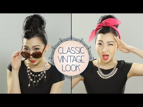 [HOW TO] Do The Classic Vintage Makeup Look - YouTube