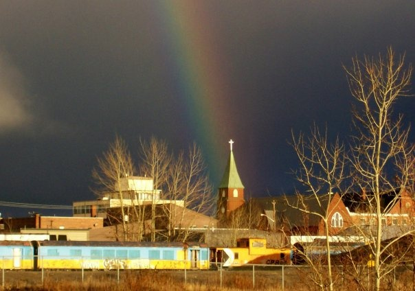 North Bay at thee end of the Rainbow