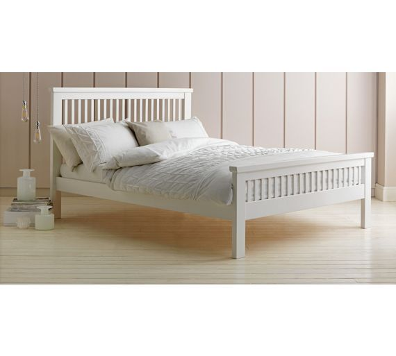 Buy Collection Aubrey Double Bed Frame - White at Argos.co.uk - Your Online Shop for Bed frames, Beds, Home and garden.