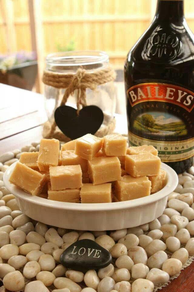 Bailey's white chocolate fudge
