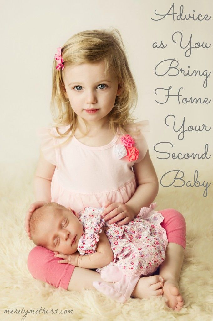 Great blog post, but what I really love is the big sister / little sister photographic pose: Advice as You Bring Home Your Second Baby – merelymothers